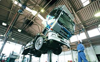 自動車整備事業 写真